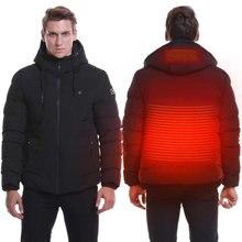 Зимняя куртка с подогревом 2020 толстая охотничья уличное пальто