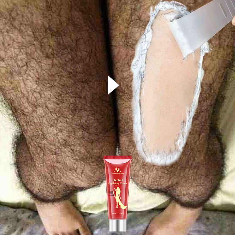 Unisex Herbal Hair Removal Cream Painless Hair Removal Removes Underarm Leg Hair Body Care Gentle Not Stimulating