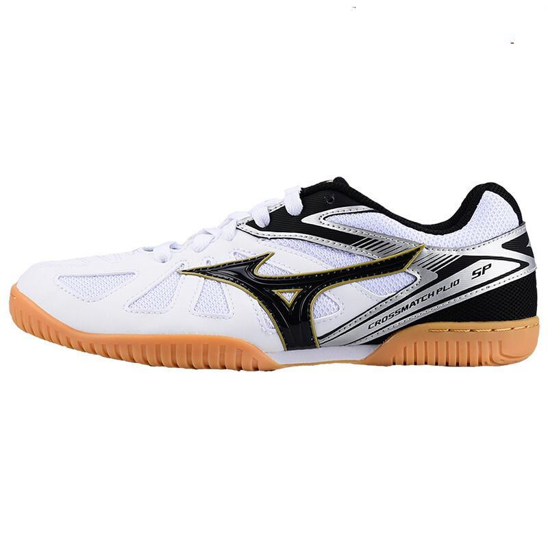 Оригинальная обувь Mizuno Cross Match Plio Cn для настольного тенниса для мужчин и женщин; обувь для тренировок в помещении; амортизирующая национальная команда; кроссовки - Цвет: 81GA183409