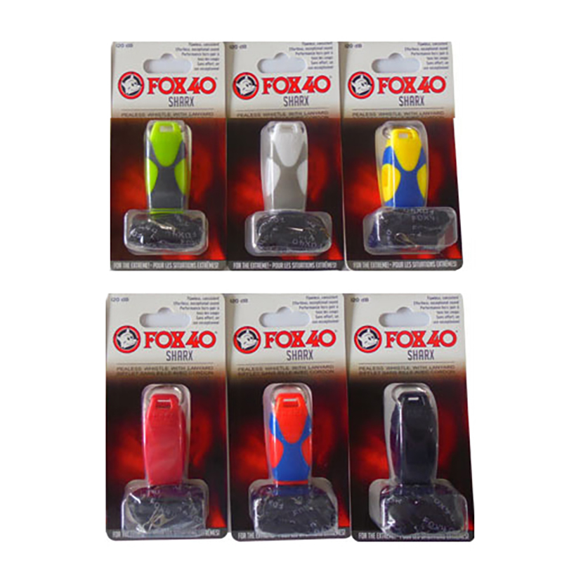 Recommend Colorful Fox 40 SHARX Drawstring Whistle In Bubble Wrap Tools