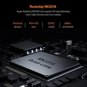 Image 4 - 2020 אנדרואיד 10 טלוויזיה תיבת Hk1 מקסימום 4GB 128GB TVbox חכם הטלוויזיה BOX Rockchip RK3318 4K 60fps USB3.0 Google PlayStore Youtube ממיר