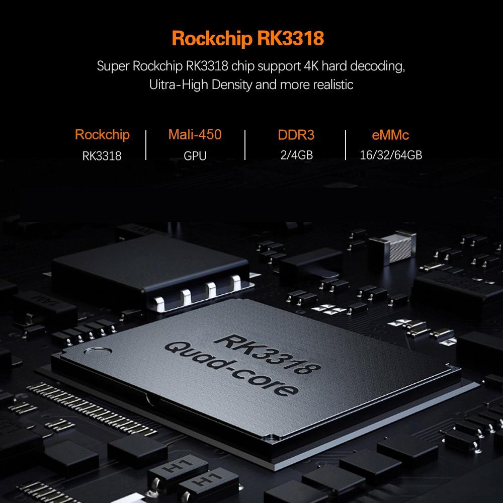 lowest price 2020 Android 10 TV Box Hk1 Max 4GB 128GB TVbox Smart TV BOX Rockchip RK3318 4K 60fps USB3 0 Google PlayStore Youtube Set top Box