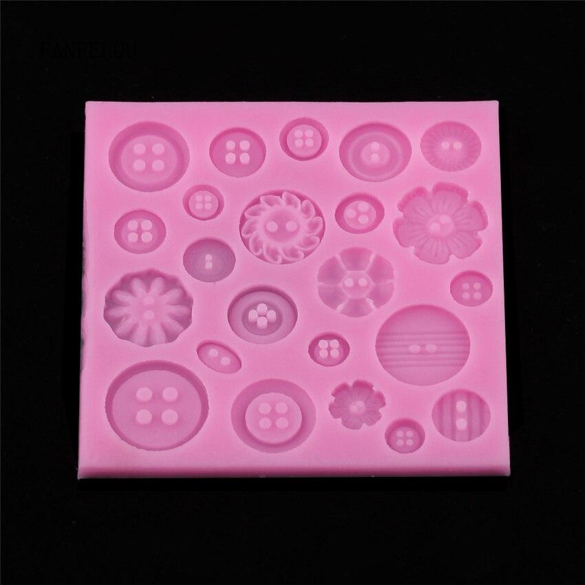 DIY çiçekler kek kalıpları silikon kalıp fondan kek çikolata sabun şeker bisküvi şeker kalıp pişirme mutfak aksesuarları