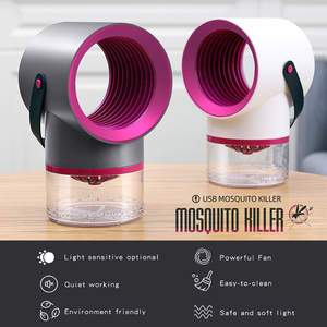 Image 2 - Led Mosquito Killer Lamp UV Night Light No Noise No Radiation USB electric for kitchen bedroom Insect Killer Flies Trap Lamp