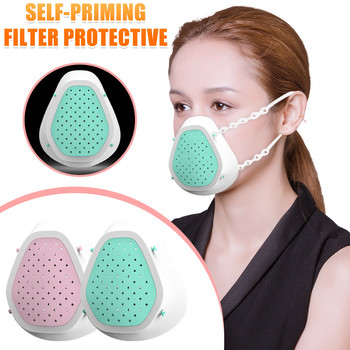 Silicone Protection Respirator Colorful Variety Design Leisurely Sports Adult Face Mask For Face Fashion Reusable Use