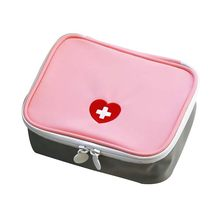 Mini bolsa de primeiros socorros, organizador de medicina vazio para acampamento, à prova d'água, em nylon, kits de emergência para sobrevivência