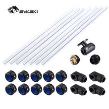 Bykski-Fitting-Kit Fitting/6-Colors 14mm/16mm for Petg-Tube/hand-Compression-Connector
