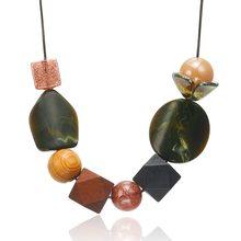 Женские ожерелья и подвески match right/массивные/бусины/винтажные/женские/большие/ожерелья