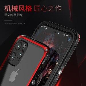 Image 3 - Armor Metal Aluminium Frame Case Voor Iphone 11 Pro Max Case Heavy Duty Bescherming Cover Voor Iphone 11 Pro Case X Xr Xs Max Coque