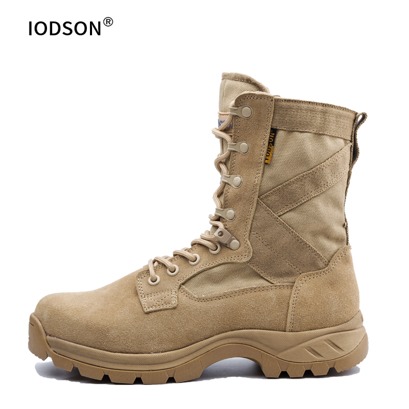 Men's Tactical Boots Military Boots Special Combat Desert Combat Boots Wear-resistant Breathable Outdoor Sports More Comfortable