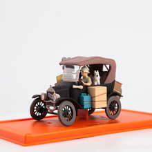 Christmas-Birthday-Gift Car-Model Diecast TINTIN Toy Alloy-Decoration Collection-Display-Boy