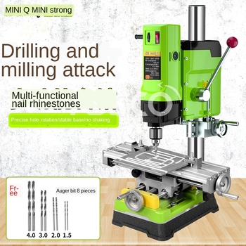 цена на Mini powerful drill, drill, milling machine, precision, high speed, multi-function for home use