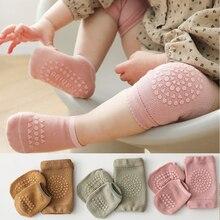 Summer Baby Knee Pad Socks Set Children s Kneecap Non Slip Toddler Crawling Sports Protector for Girls Boys