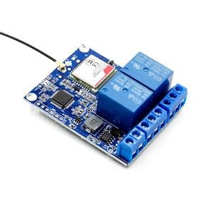 Image 2 - 2 Channel Relay Module SMS GSM Remote Control Switch SIM800C STM32F103C8T6 for Greenhouse Oxygen Pump