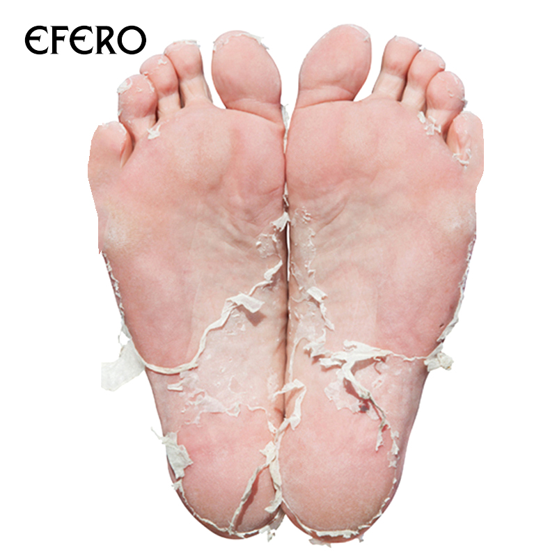 EFERO New Feet Mask Exfoliating Foot Mask Socks for Pedicure Peeling Dead Skin Remover Feet Mask Foot Detox Spa Soft Care TSLM1 4