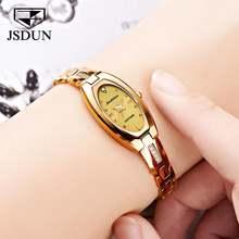 Часы jsdun женские из вольфрамовой стали с сапфировым стеклом