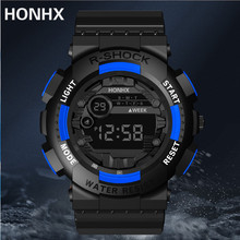 HONHX R-Shock men's digital watch auto date waterproof Sport