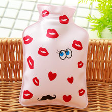 Anti-skid Heat-resistant Safe Winter Warmer Bag Cartoon Cute Heat Therapy Pressure-proof Hot Water Bottle for Students(China)