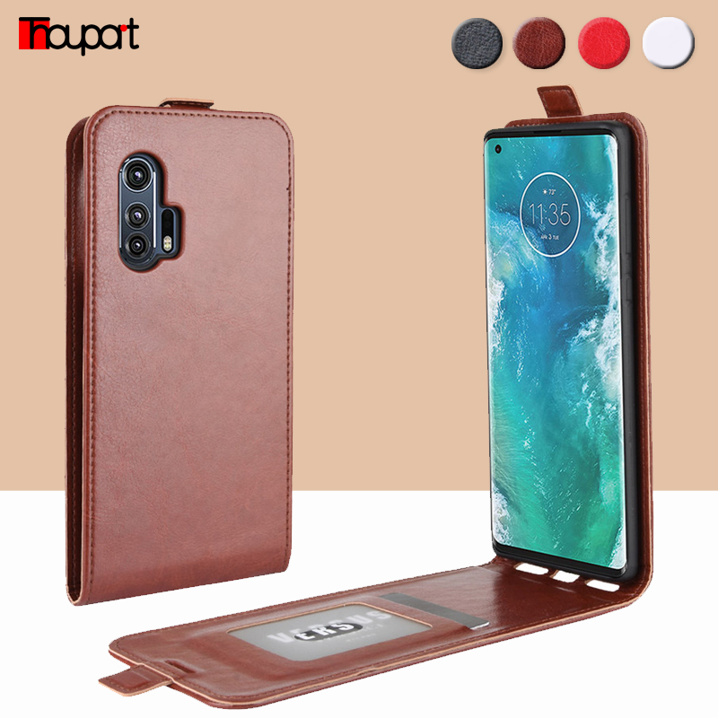 2020 Leather Case For Motorola G Fast Stylus Power Pro Phone Cases Silicone + Vertical Flip Cover For Motorola G Fast Case Edge+