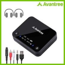 AVANTREE Audikast APTX Độ Trễ Thấp Bluetooth Truyền Âm Thanh Cho Tivi PC (Quang Kỹ Thuật Số Toslink, AUX 3.5 Mm, RCA, USB Máy Tính) 100ft