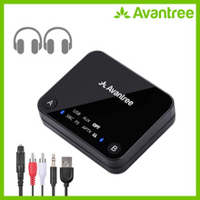 Avantree Audikast aptX Lage Latency Bluetooth Audio Zender voor TV PC (Optische Digitale Toslink, 3.5mm Aux, RCA, PC USB) 100ft