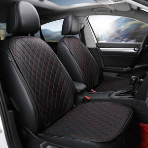 Image 1 - Four season Leather Car Seat Cover Cushion Front Rear Backseat Seat Cover Auto Chair Seat Protector Mat Pad Interior Accessories