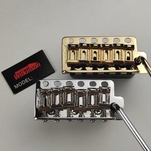 ST гитара черный Wilkinson WVP6SB гитара тремоло мост + седла из нержавеющей стали