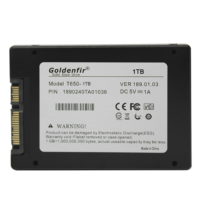 Goldenfir lowest price SSD 120GB 128GB 240GB 2.5Solid state drive480GB 960GB ssd  256GB 512GB 720GB 1TB 2TB hard drive disk 6