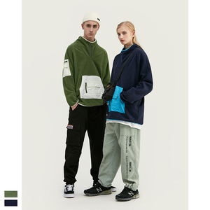 Hoodies for Men and Women Autumn/winter Hip Hop with Plush and Thickened Men Blazers Loose Large Size Tennis long sleeve Ladies