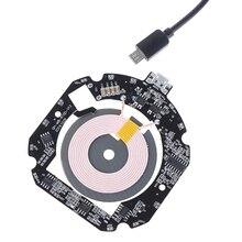 10 Вт/15 Вт QI Быстрое беспроводное зарядное устройство PCBA печатная плата модуль передатчик + катушка