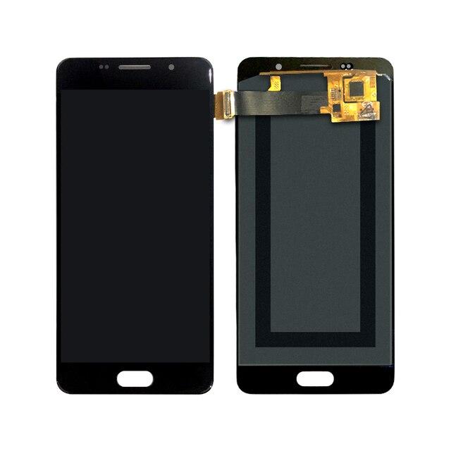 A510 LCD pour SAMSUNG Galaxy A5 2016 A510 A510FD A510F A510M LCD écran tactile numériseur assemblée remplacement 100% testé