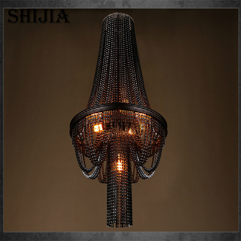 Retro Personality Creative Bicycle Chain Pendant light for Bar Restaurant Cafe Decoration Lighting - 2