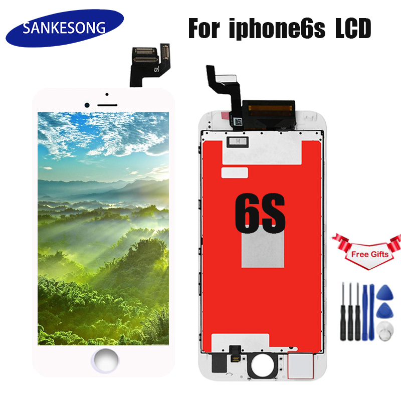 AAA+++ Quality Touch For iphone 6s Screen Glass Digitizer Display Assembly LCD for iphone 6s lcd Replacement