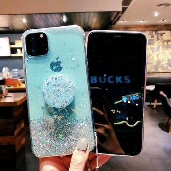 Unique Glitter Case for iPhone SE (2020) 3