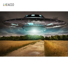 Laeacco UFO Super Hero Wedding Photo Studio Photography Backgrounds Photocall Customize Backdrops Hromakey For Financing