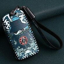 Couro do carro remoto chave caso capa para acura ldx mdx rdx nsx rtlx TLX L tlx rlx estilo do carro