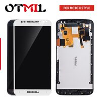 5.7 For Motorola Moto X Style X Pure LCD Display Touch Screen Digitizer Assembly with Frame For X3 style XT1570 XT1572