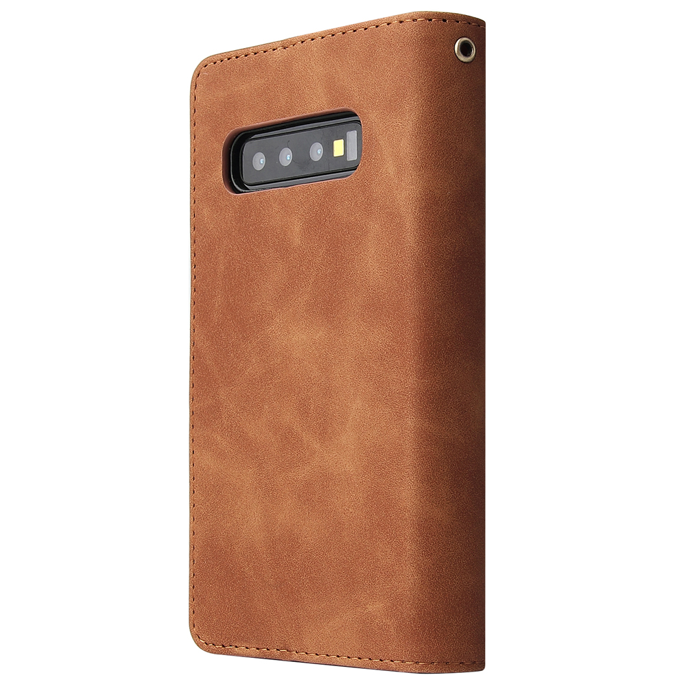 Pu leather phone case For Samsung S8 S9 S10lite S10 Plus S10E S20 S20Ultra Fully enclosed protection Wallet function package