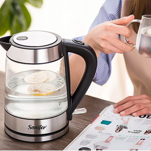 Image 3 - 1.7L Temperature cControl Electric Kettle Glass Transparent 2200W Household Quick Heating Electric Boiling Pot Sonifer