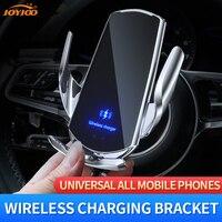 Magnetic Charging Auto Halter foriPhone 11 X Max Universal Spann Qi Drahtlose Ladegerät Entlüftungs Stehen für Telefon