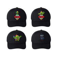 Black hat Braw stars Game baseball cap cartoon cotton men wo