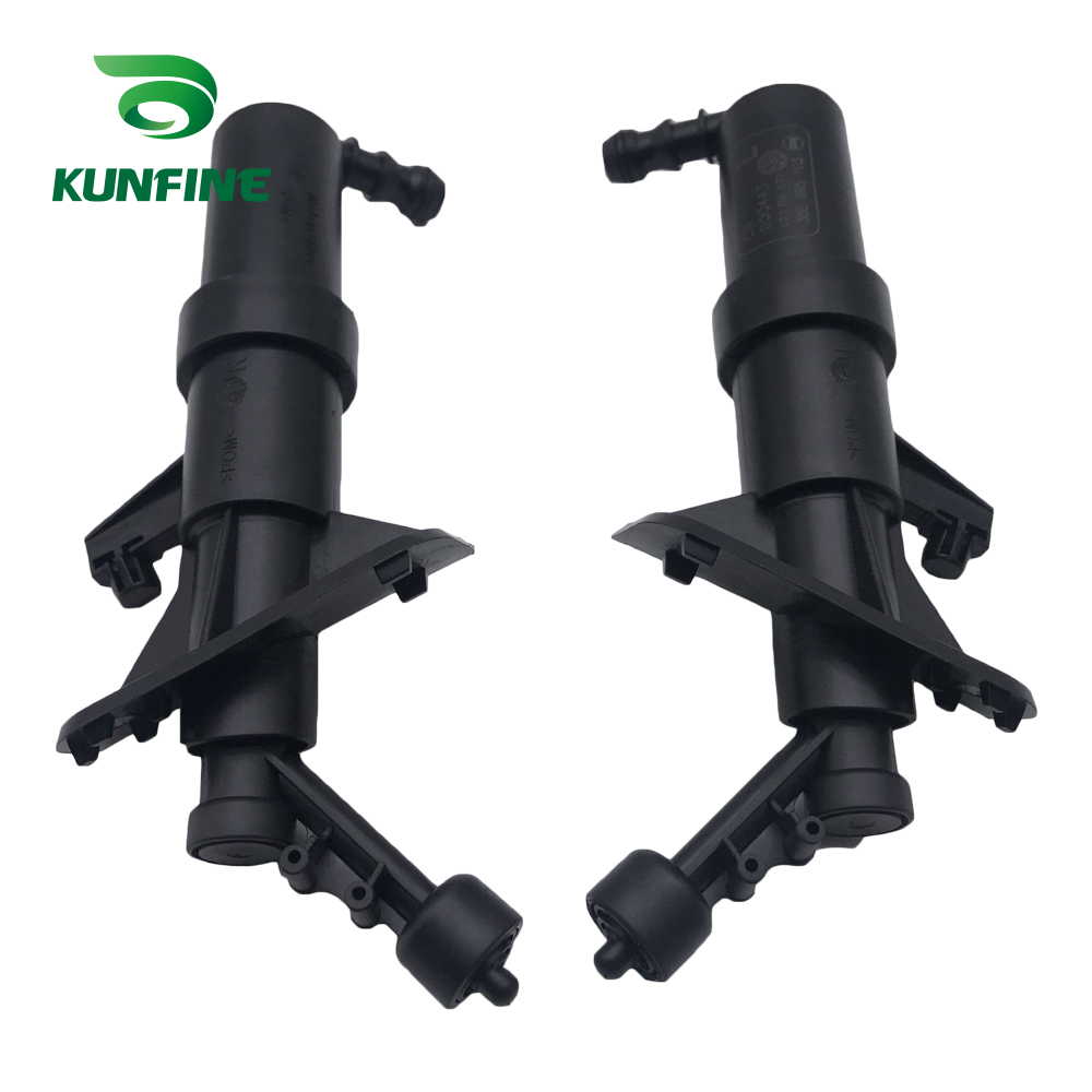 KUNFINE Pair of Pair of Left Headlight <font><b>Washer</b></font> Nozzle <font><b>Headlamp</b></font> <font><b>Washers</b></font> Jet for VW Passat CC Audi TT 35D 955 103 35D 955 104 image