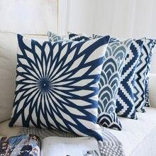 Nanacoba классическая домашняя подушка для дивана вышивка ретро