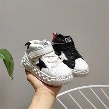 2019 Autumn/Winter Kids Shoes Toddler Girls Boys Sneakers Short Plush Warm