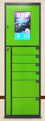Personalizar código de barras reconocimiento facial zigbee WiFi control remoto mensajería cajas de almacenamiento cajas inteligentes