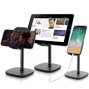Universal phone stand for desk,Adjustable Cell Phone Stand Desktop Phone Holder for 3.5 inch To 9.7 inch Smartphone and Tablet