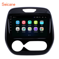 Seicane Android 8.1 auto radio 2din 9 inch car GPS multimedia player For Renault Captur CLIO Samsung QM3 Manual A/C 2011 2016