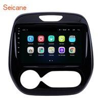 Seicane Android 9.1 auto radio Car Radio GPS Multimedia Unit Player For Renault Captur CLIO Samsung QM3 Manual A/C 2011 2016