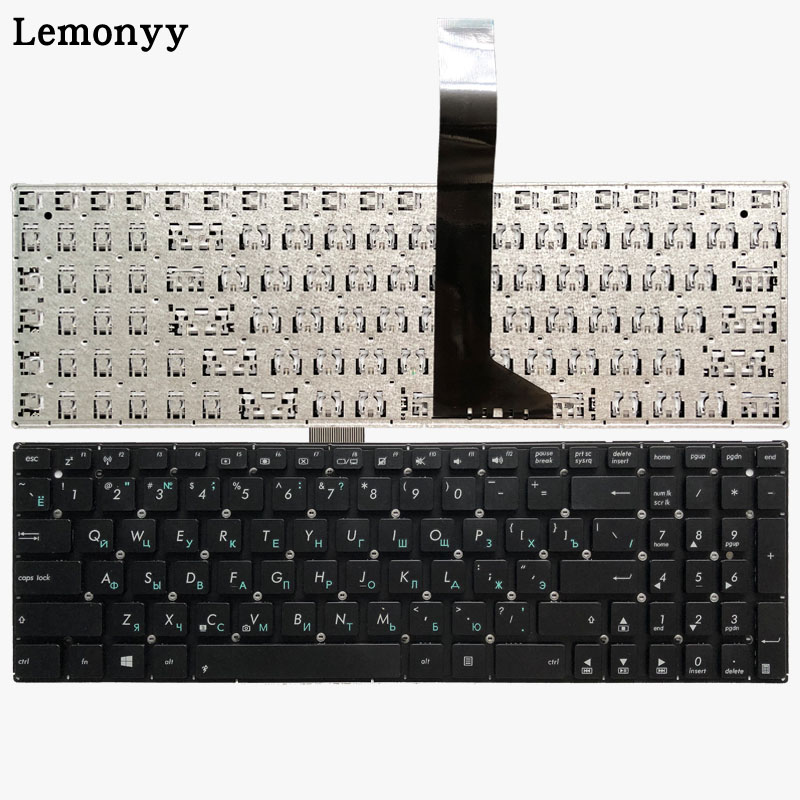Russian Laptop Keyboard for ASUS F552CL F552E F552EA F552EP F552L F552LAV F552LD F552M F552MD F552MJ S501A S501U R510V RU Black-in Replacement Keyboards from Computer & Office on