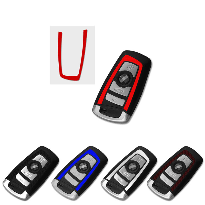 1 pcs Car key cap sticker Car key decoration sticker For bmw M Sticker X1 X3 X4 X5 X6 X7 e46 e90 f20 e60 e39 f10 Car accessories image